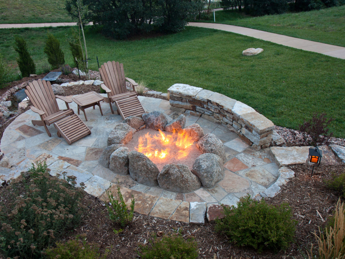 Create Your Own Custom Fire Pit   Southwest Boulder & Stone