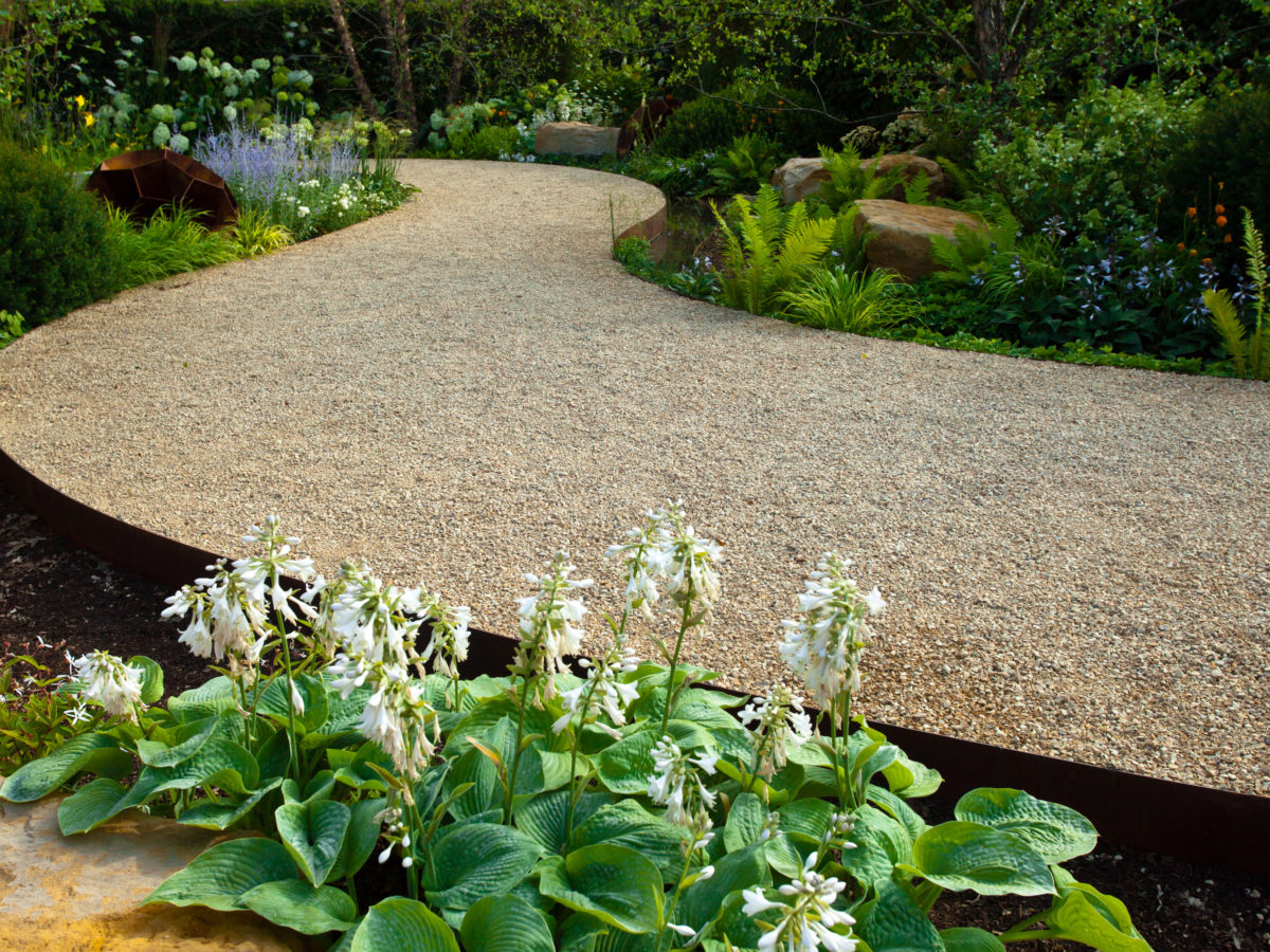 Over The Garden Walk: How To Install A Decomposed Granite Pathway